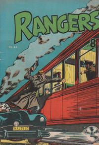 Cover Thumbnail for Rangers Comics (H. John Edwards, 1950 ? series) #44