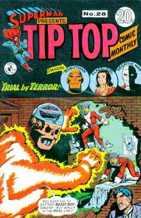 Cover Thumbnail for Superman Presents Tip Top Comic Monthly (K. G. Murray, 1965 series) #28