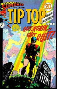 Cover Thumbnail for Superman Presents Tip Top Comic Monthly (K. G. Murray, 1965 series) #41