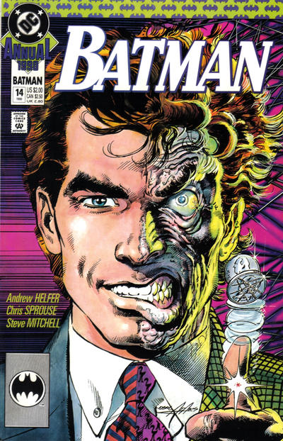 Cover for Batman Annual (1982 series) #14