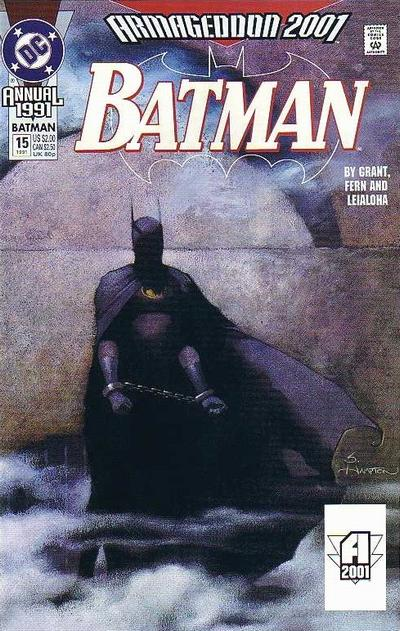 Cover for Batman Annual (1982 series) #15 [First Printing]