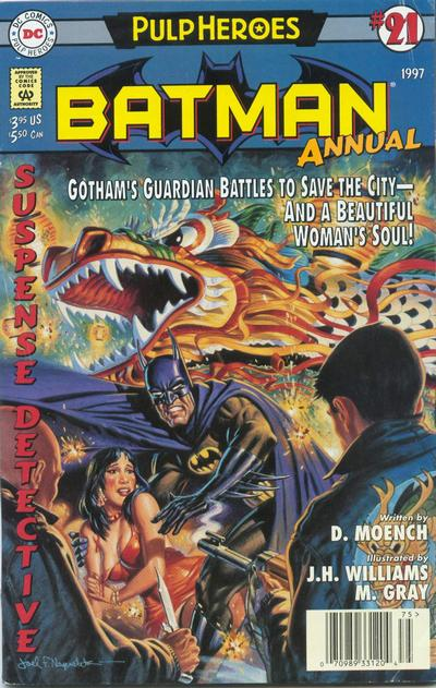 Cover for Batman Annual (1982 series) #21