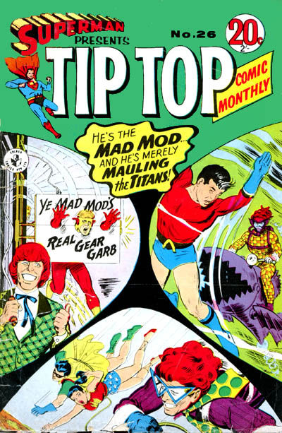 Cover for Superman Presents Tip Top Comic Monthly (1965 series) #26
