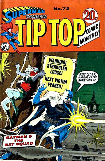 Cover for Superman Presents Tip Top Comic Monthly (K. G. Murray, 1965 series) #72