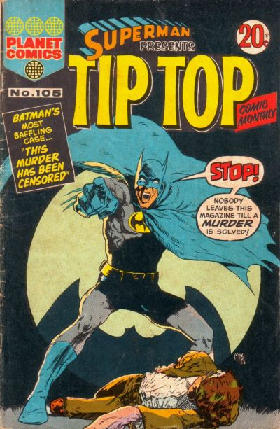 Cover for Superman Presents Tip Top Comic Monthly (K. G. Murray, 1965 series) #105