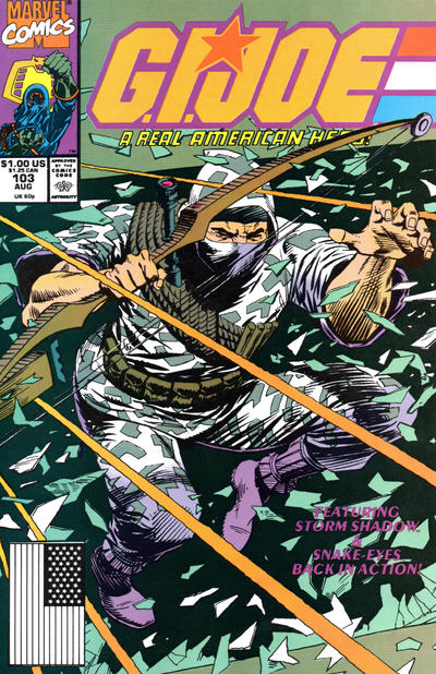 Cover for G.I. Joe, A Real American Hero (Marvel, 1982 series) #103