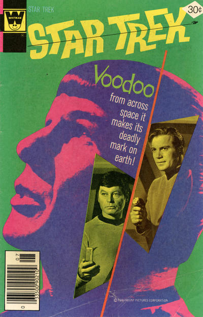 Cover for Star Trek (Western, 1967 series) #45 [Gold Key Variant]
