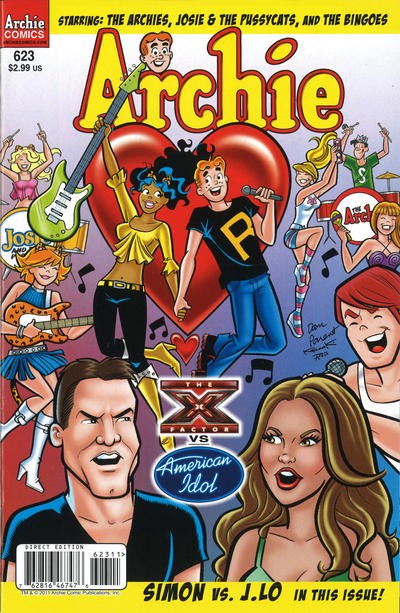 Cover for Archie (Archie, 1959 series) #623