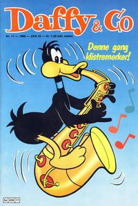 Cover Thumbnail for Daffy & Co (Semic, 1985 series) #11/1986