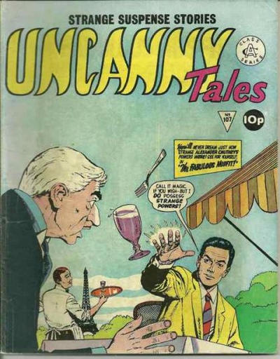 Cover for Uncanny Tales (Alan Class, 1963 series) #107
