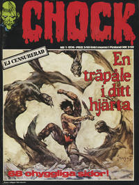 Cover Thumbnail for Chock (Semic, 1972 series) #1/1974