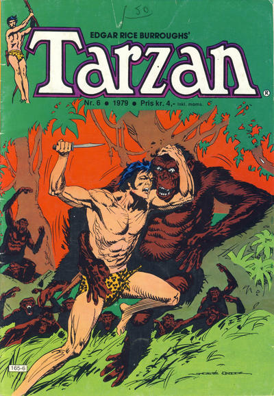 Cover for Tarzan (Atlantic Forlag, 1977 series) #6/1979