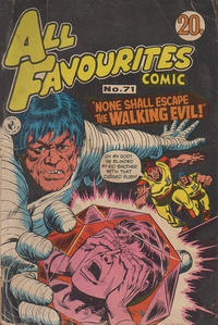 Cover Thumbnail for All Favourites Comic (K. G. Murray, 1960 series) #71