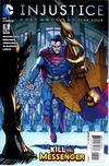 Cover for Injustice: Gods Among Us Year Four (DC, 2015 series) #5