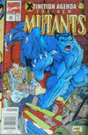 Cover Thumbnail for The New Mutants (1983 series) #96 [Australian Newsstand]