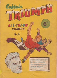 Cover Thumbnail for Captain Triumph Comics (K. G. Murray, 1947 series) #5