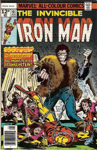 Cover for Iron Man (Marvel, 1968 series) #101 [30¢ Cover Price]