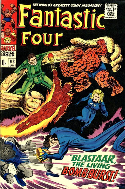 Cover for Fantastic Four (Marvel, 1961 series) #63