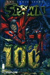 Cover Thumbnail for Spawn (Image, 1992 series) #100 [Todd McFarlane]