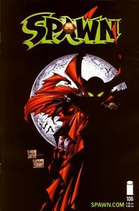 Cover Thumbnail for Spawn (Image, 1992 series) #106