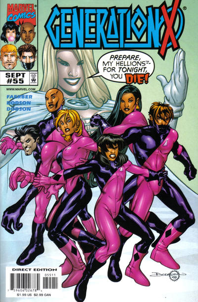 Cover for Generation X (Marvel, 1994 series) #55