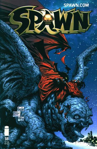 Cover for Spawn (1992 series) #98