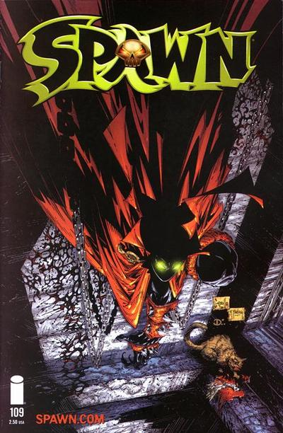 Cover for Spawn (Image, 1992 series) #109