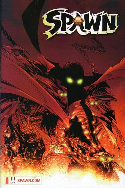 Cover for Spawn (Image, 1992 series) #111