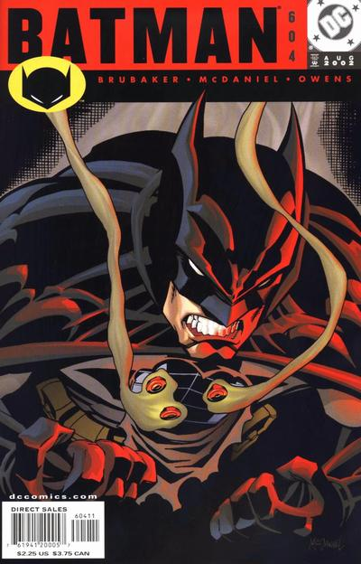 Cover for Batman (DC, 1940 series) #604