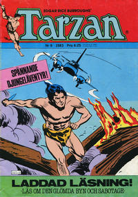 Cover Thumbnail for Tarzan (Atlantic Förlags AB, 1977 series) #9/1983