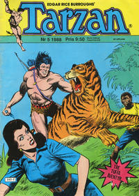 Cover Thumbnail for Tarzan (Atlantic Förlags AB, 1977 series) #5/1988