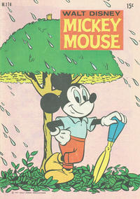 Cover Thumbnail for Walt Disney's Mickey Mouse (W. G. Publications; Wogan Publications, 1956 series) #174
