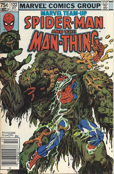 Cover for Marvel Team-Up (Marvel, 1972 series) #122 [Newsstand]