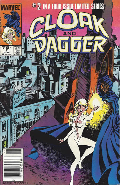 Cover for Cloak and Dagger (Marvel, 1983 series) #2 [Direct Edition]