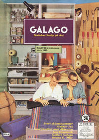 Cover Thumbnail for Galago (Atlantic Förlags AB; Tago, 1980 series) #28