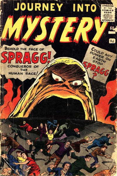 Cover for Journey into Mystery (Marvel, 1952 series) #68