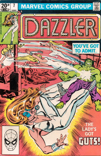 Cover for Dazzler (Marvel, 1981 series) #7 [Direct Edition]
