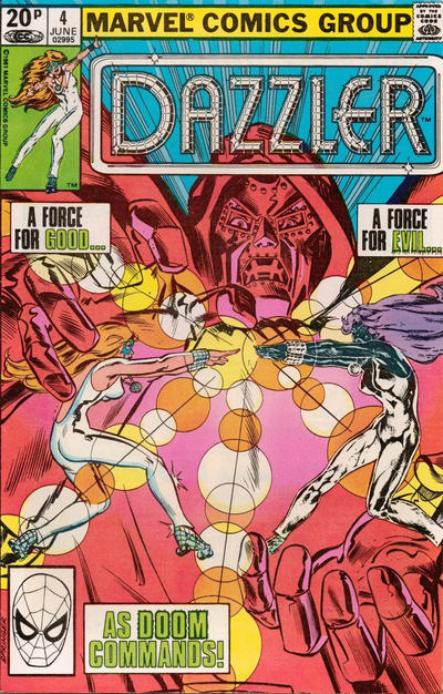 Cover for Dazzler (Marvel, 1981 series) #4 [Direct Edition]