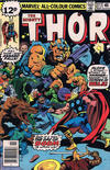 Cover Thumbnail for Thor (1966 series) #277 [British Price Variant]