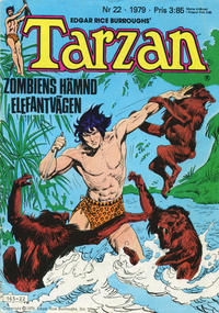 Cover Thumbnail for Tarzan (Atlantic Förlags AB, 1977 series) #22/1979