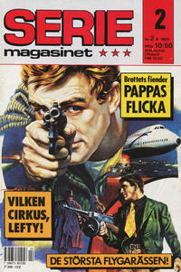 Cover Thumbnail for Seriemagasinet (Semic, 1970 series) #2/1989