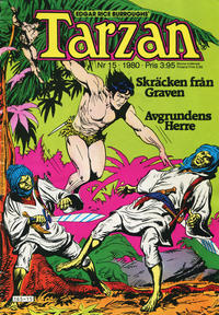 Cover Thumbnail for Tarzan (Atlantic Förlags AB, 1977 series) #15/1980