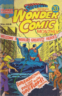 Cover Thumbnail for Superman Presents Wonder Comic Monthly (K. G. Murray, 1965 ? series) #105