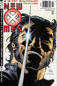 Cover Thumbnail for New X-Men (Marvel, 2001 series) #115 [Newsstand Edition]
