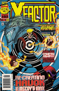 Cover for X-Factor (Marvel, 1986 series) #125 [Direct Edition]