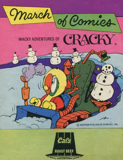 Cover for March of Comics (Western, 1946 series) #436