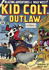Cover for Kid Colt Outlaw (Thorpe & Porter, 1950 ? series) #7