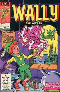 Cover for Wally the Wizard (Marvel, 1985 series) #1 [Direct Edition]