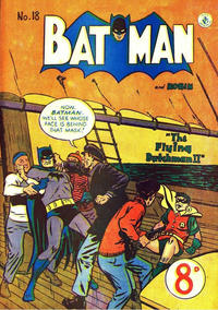 Cover Thumbnail for Batman (K. G. Murray, 1950 series) #18