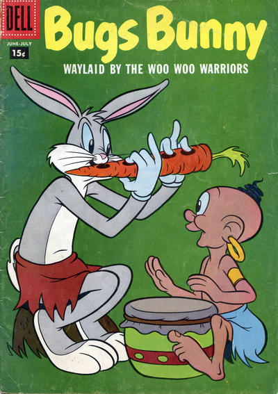 Cover for Bugs Bunny (Dell, 1952 series) #55